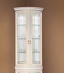 Секция угловая 2-дверная Василиса