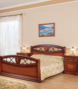 Кровать с изножьем Василиса-2