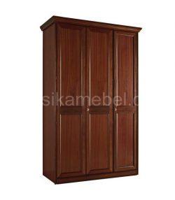Шкаф 3-дверный с декором Сан-Ремо