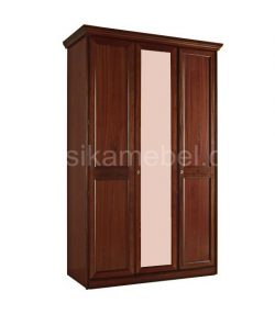 Шкаф 3-дверный с 1 зеркалом Сан-Ремо