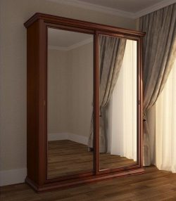 Шкаф-купе Сильвия с зеркалом