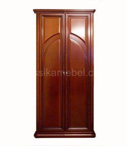 Шкаф 2-дверный (с арочными брусками) Сильвия
