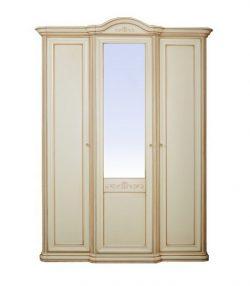 Шкаф для одежды 3-дверный (гнутый карниз) София