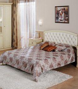 Кровать с мягким изголовьем София