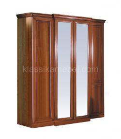 Шкаф 4-дверный с выступом Джулия