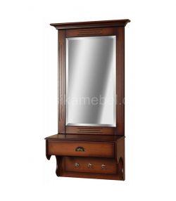 """Зеркало настенное с ящиком """"Валенсия"""""""