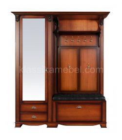 """Прихожая """"Лувр"""" с одностворчатым шкафом и зеркалом"""