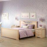 Кровать №2 с изножьем Джоконда
